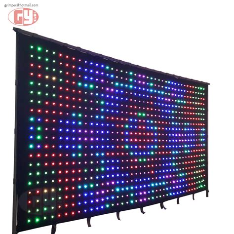 brand new mics are for singing not swinging shirt led curtain screen price 28 images china led video