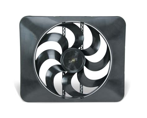 flex a lite electric fan flex a lite automotive 15 inch black magic xtreme s blade