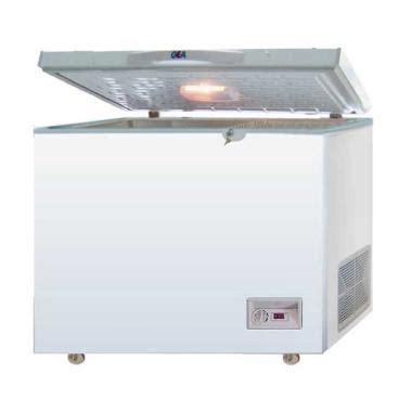 Daftar Freezer Gea jual gea ab 396tx chest freezer putih harga