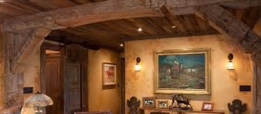 Faux Interior Columns Reclaimed Hand Hewn Wood Beams Antique Barn Beams