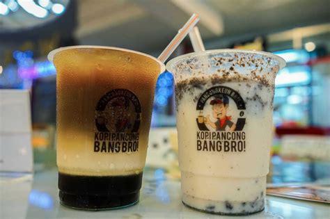 pilihan berbagai rasa kopi  minuman  kedai bang bro braga