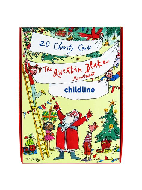 woodmansterne quentin blake charity christmas cards pack    john lewis partners