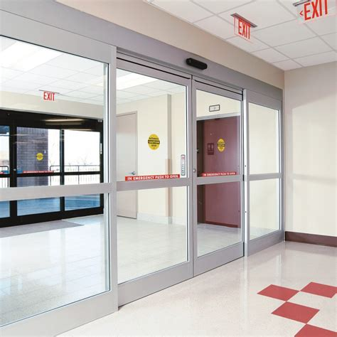 stainless steel hospital swing doors hospital sliding and hinged glass door