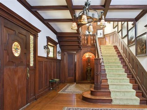 mansion foyer foyer of the rosenheim mansion in los angeles built in