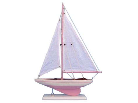 Sailboat Models For Decoration by Wooden Pink Pacific Sailer Model Sailboat Decoration 17 Quot