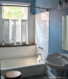 blinds for window in shower solution to the large window in the shower simple diy
