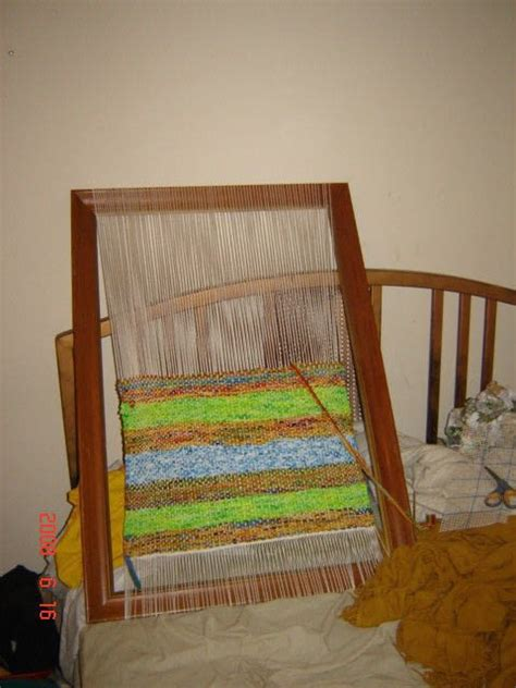 How To Make A Frame Loom For Rag Rugs by Frame Loom Rag Rug 183 A Rag Rug 183 Weaving On Cut Out Keep