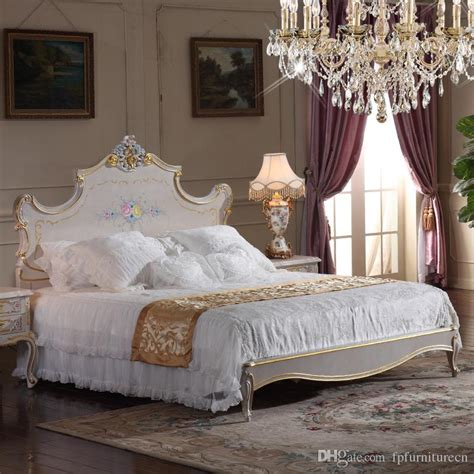 high end king size bedroom sets 2018 high end classic furniture bedroom baroque style