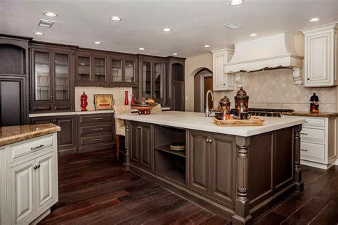 two tone painted kitchen cabinet ideas two tone painted kitchen cabinet ideas deductour com