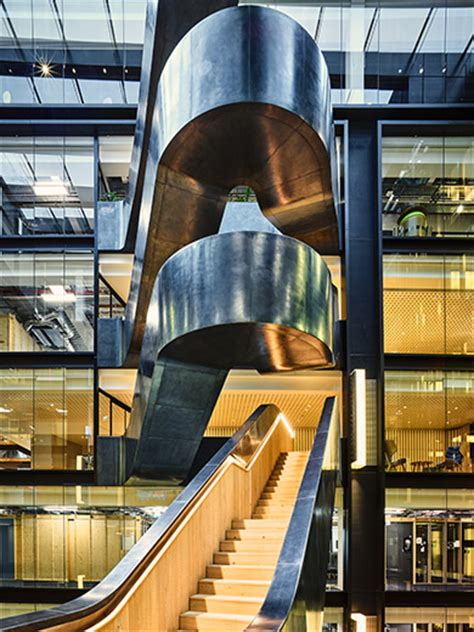 case study retro fit staircase google offices