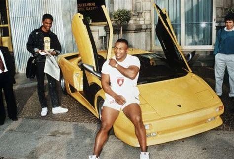 Mike Tyson Lamborghini Fritter Frivol Squander Spend The Rake Magazine