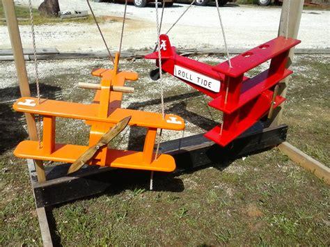 Wood Airplane Swing Plans