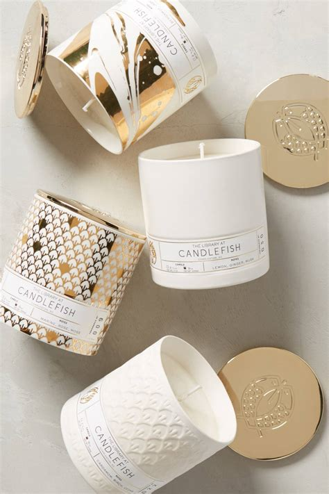 home design gifts candlefish ceramic candle anthropologie