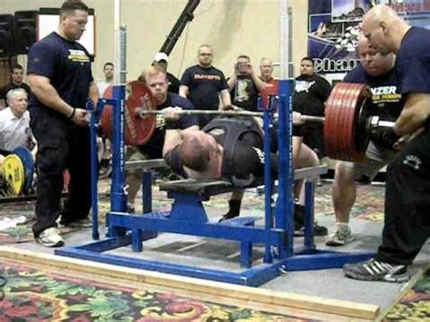 guinness world record bench press world record for heaviest bench press
