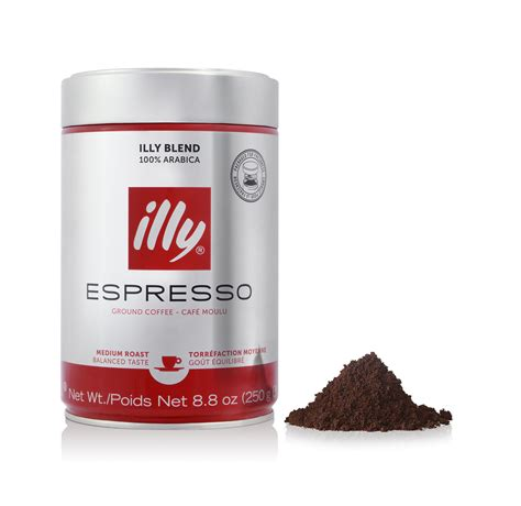 Coffee Illy ground espresso medium roast coffee illy eshop