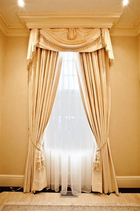 Hanging Curtains In A Bay Window