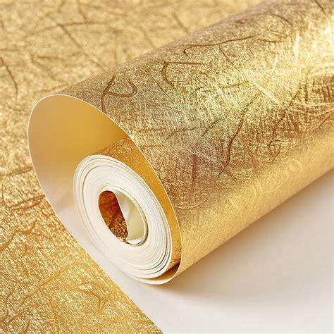 Goldfolie Decke by Online Kaufen Gro 223 Handel Silberfolie Tapeten Aus China