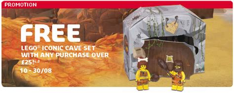 Lego 5004936 Iconic Cave Ori lego europe store calendar reveals the iconic cave 5004936 set the brick show