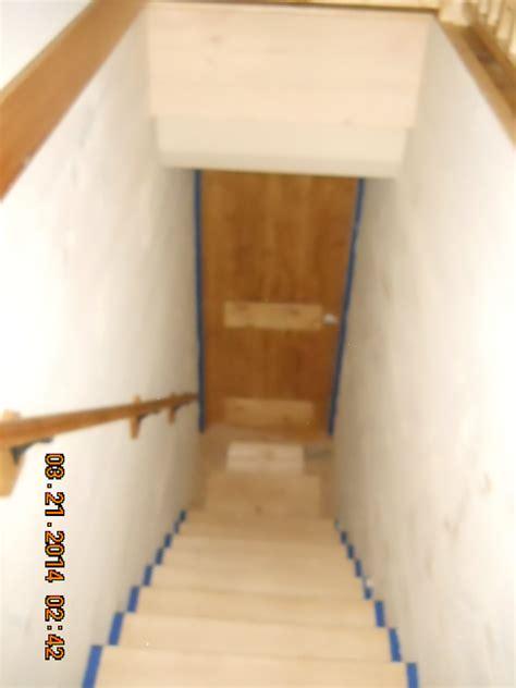 door swing into stair landing image gallery stairway doors