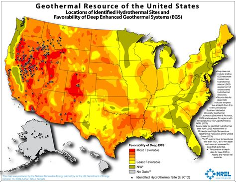 map of the united states natural resources geothermal maps geospatial data science nrel