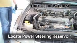 2007 Nissan Altima Power Steering Fluid Check Power Steering Level Nissan Altima 1998 2001