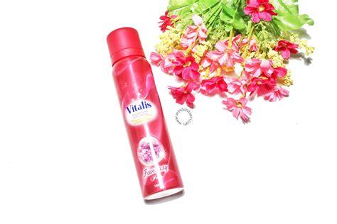 Parfum Vitalis Kecil be glamourous with vitalis aerosol spray georgeous