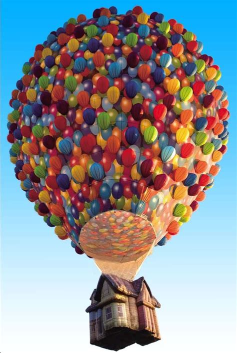 Clouds Wall Mural popular flying balloon house buy cheap flying balloon