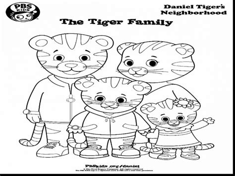 coloring page daniel tiger daniel tigers neighborhood printable pages coloring pages
