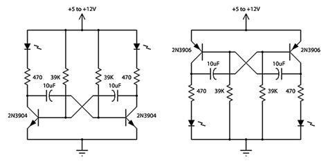 voltage across capacitor in astable multivibrator led using capacitors for lights electrical engineering stack exchange