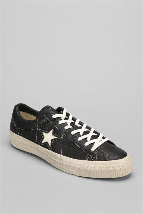 Jual Converse X Varvatos converse varvatos x chuck all cracked leather s sneaker in black for lyst
