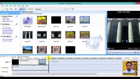 windows movie maker tutorial in hindi working with video and audio in windows movie maker in