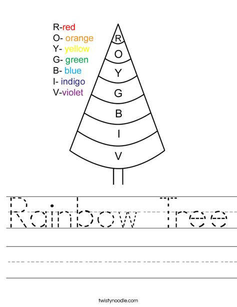 r is for rainbow worksheet twisty noodle rainbow tree worksheet twisty noodle