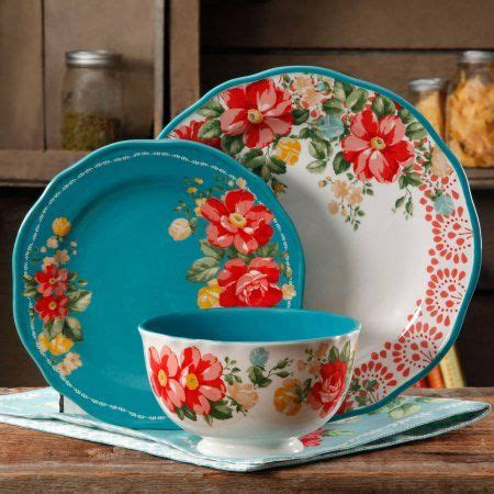 pioneer womans dishes at walmart free shipping buy the pioneer woman vintage floral 12