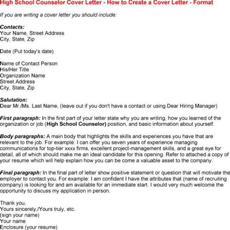 school counselor cover letter resume exles