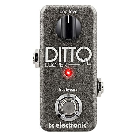 best guitar looper pedal tc electronic ditto looper guitar effects pedal musician
