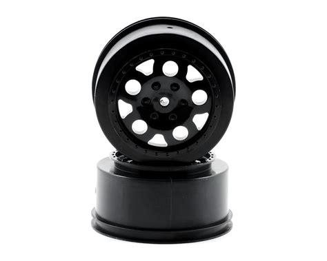 91101 Team Associated Kmc Hex Wheels Black Hex 2pcs kmc course wheels black 2 sc10 rear not hex by team associated asc9808 cars