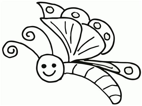 Butterfly Coloring Pages For Toddlers by Butterfly Coloring Pages For Toddlers Coloring Home