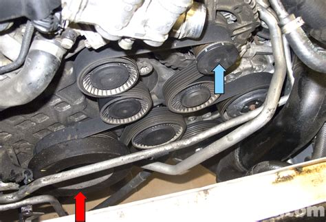 6478 Soket Er Alternator Nissan X Trail 2 0 T31 bmw e60 5 series drive belt tensioner idler replacement n54 engine pelican parts technical