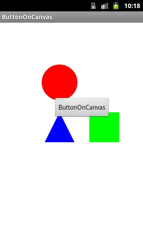 android relative layout canvas androidでcanvasの上にbuttonを置く よせばいいのに