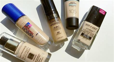 top drugstore foundation for skin the most