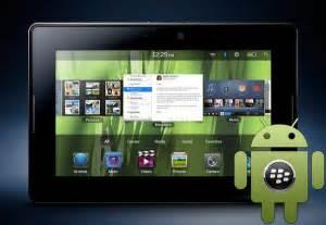 blackberry playbook android ประจบก นข ามค าย มอบ blackberry playbook ให แก น กพ ฒนา android ฟร update