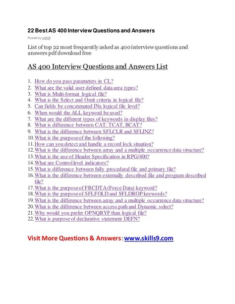 N Question List 22 Best As 400 Questions And Answers