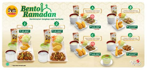 coco xxi jogja bento ramadhan hokben 2018 info lengkap di sini harga menu