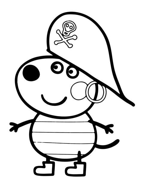 peppa pig coloring pages danny dog dibujos para colorear a peppa pig en el ordenador divertidas
