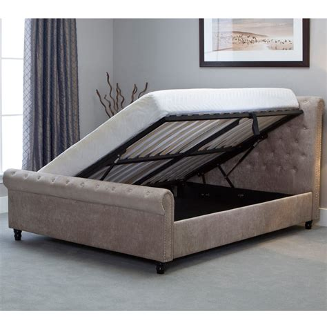 5ft king size bed shop emporia beds oxsn50 oxford 5ft king size stone