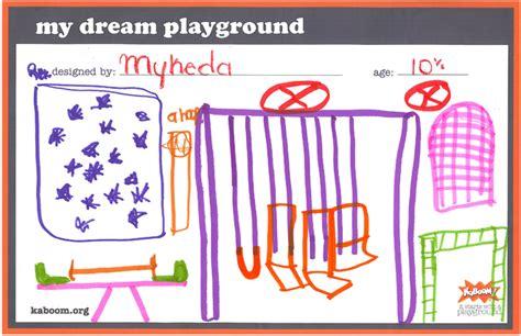 design a dream playground play today kaboom