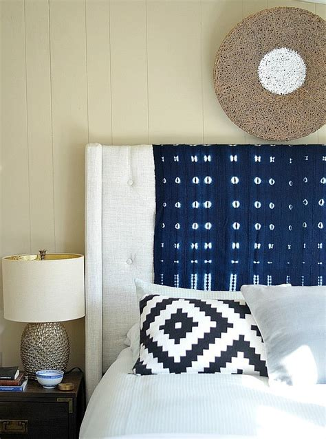dress up your headboard 30 clever home hacks for decor