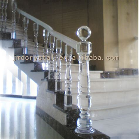 luxury glass stairs railings column staircase