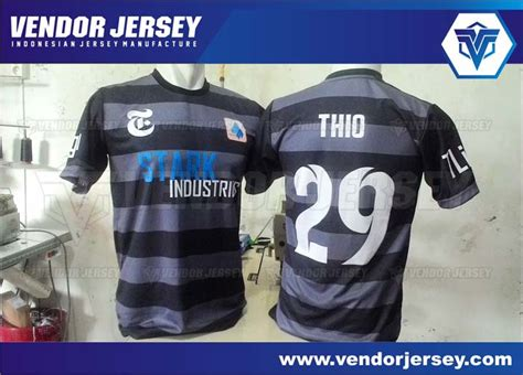 Vendor Jersey Futsal Seragam Futsal Custom Tangerang desain seragam futsal depan belakang vendor jersey