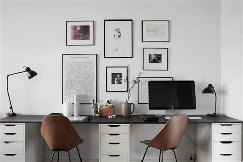 desk for 2 people two person desk design ideas for your home office